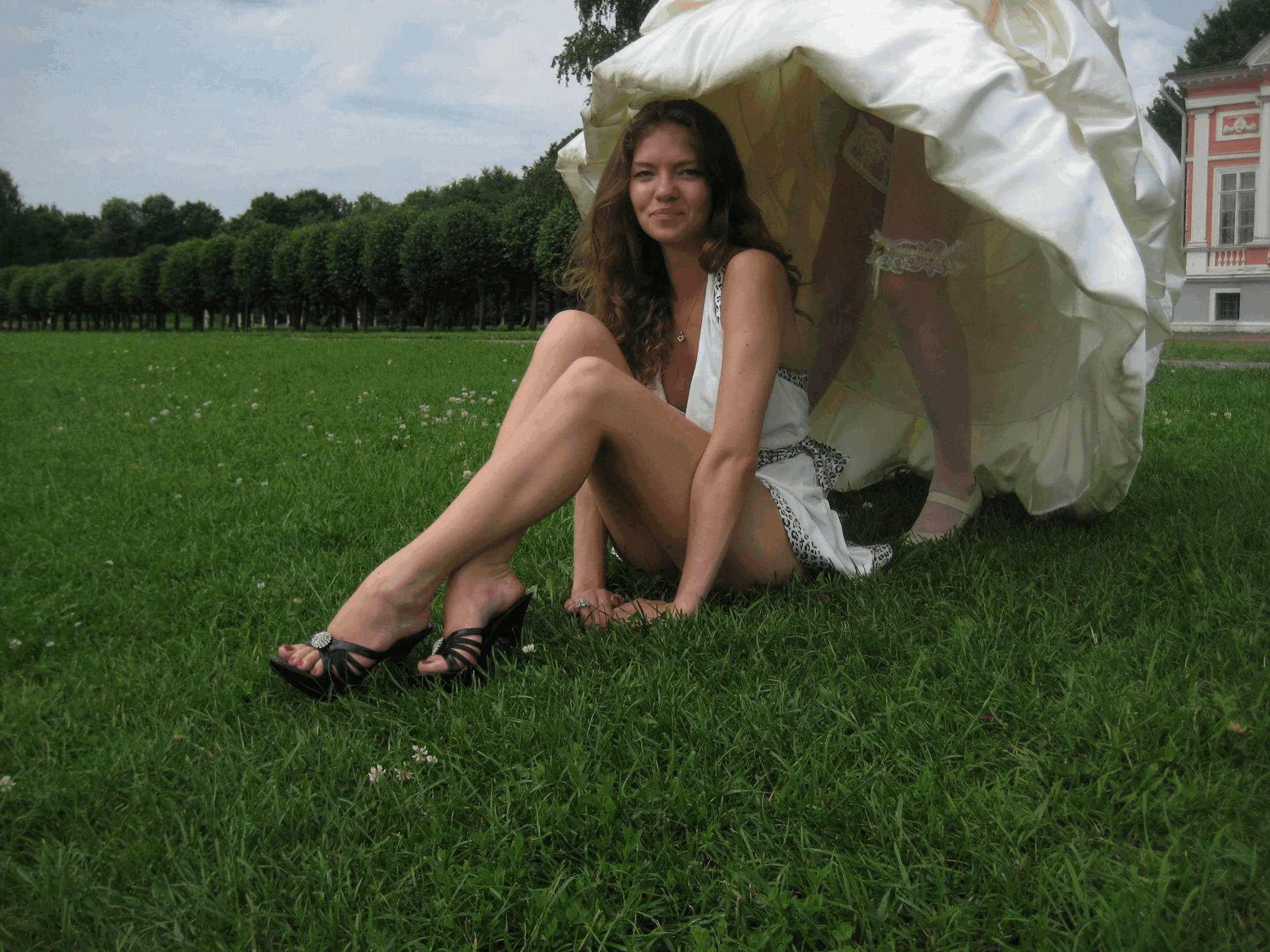 Приколы голых невест 12 фотография