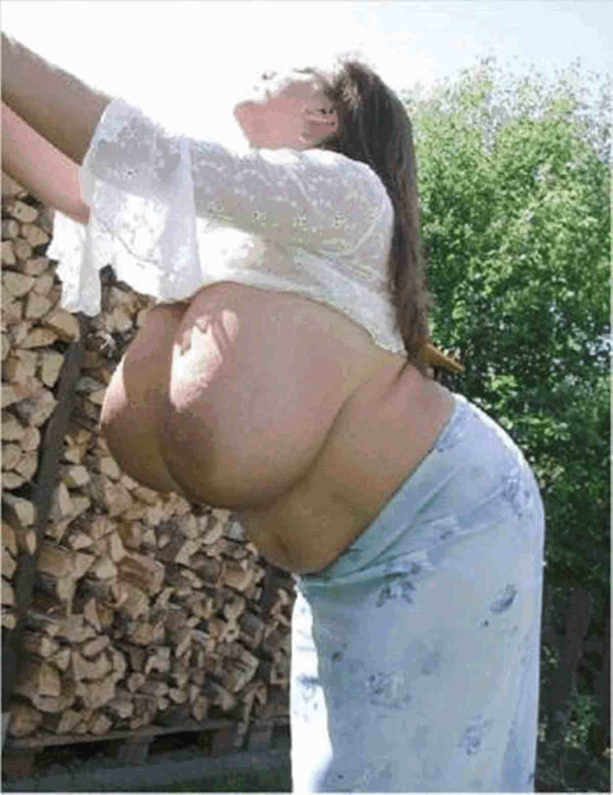 Реальная огромна грудь 17 фотография