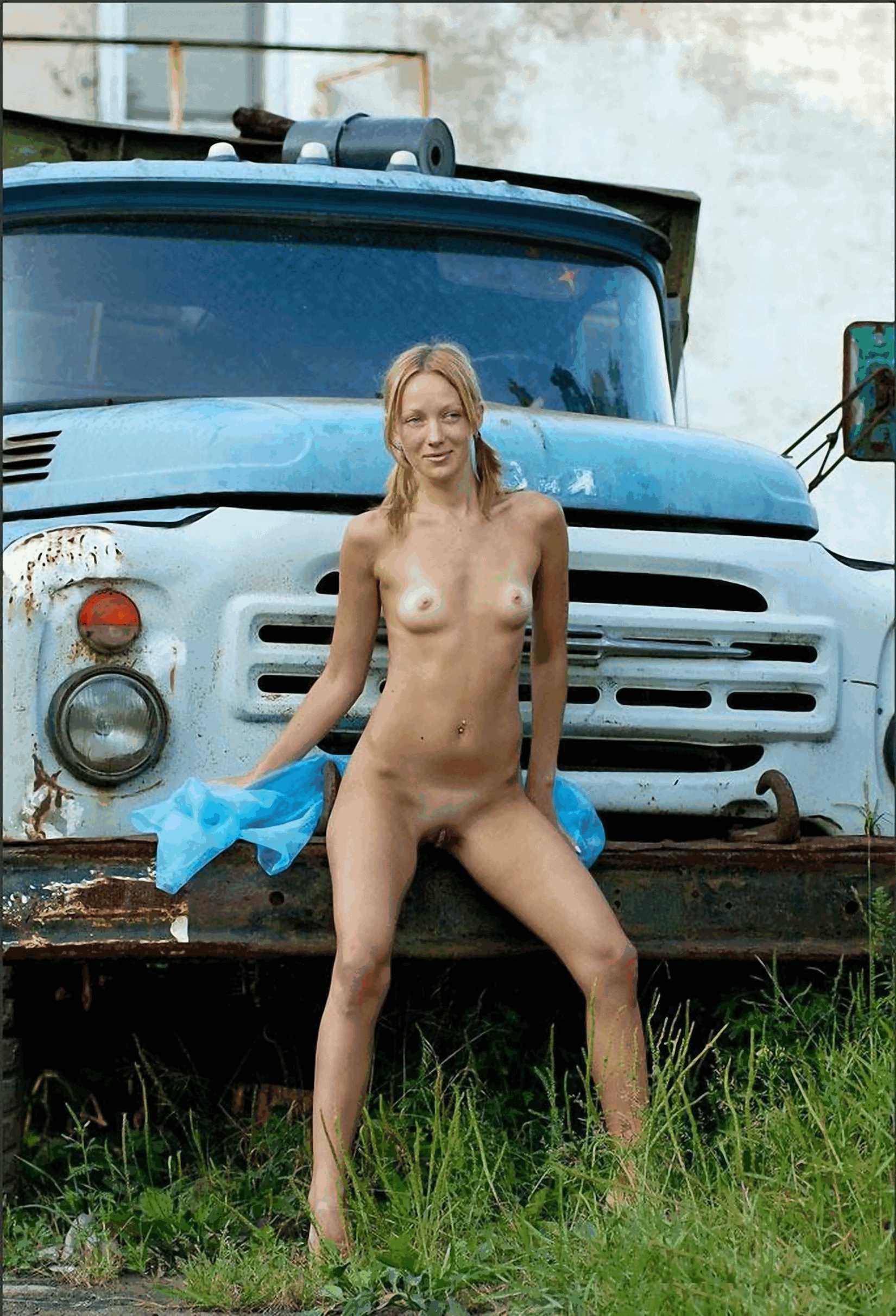 Порно в машине грузовой 10 фотография