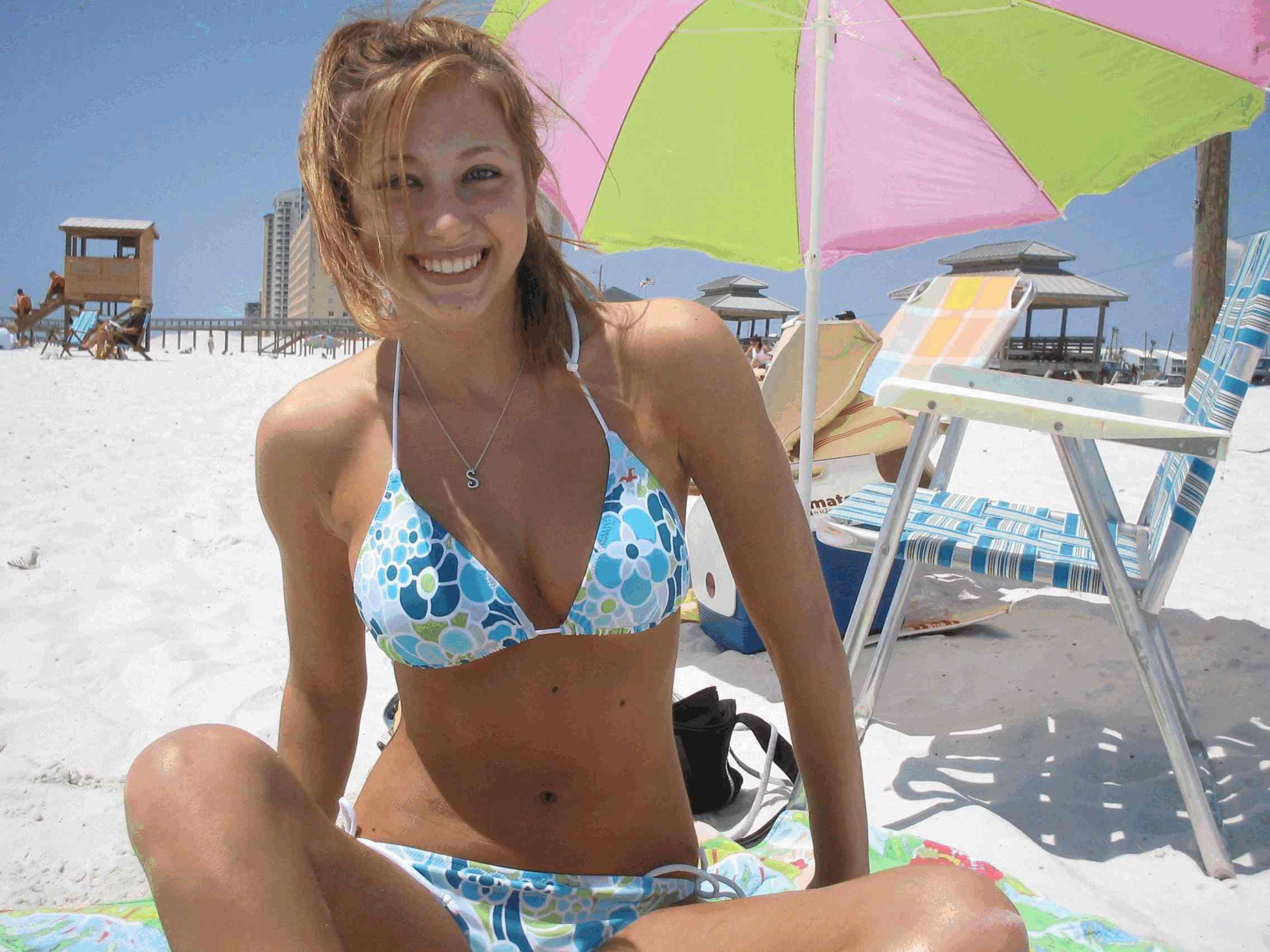 Фото красивых девушек 18 на пляже 8 фотография