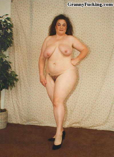 фото голых полных бабушек