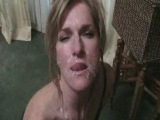 Жена Сосет И Лица Cumshot