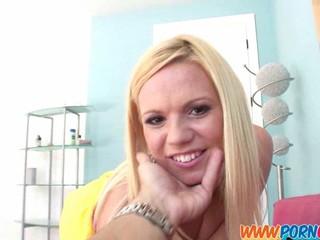 Голодные Блондинка Подросток Отсасывает
