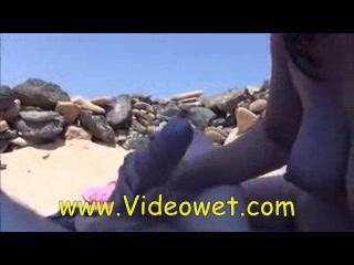Противный Минет На Пляже