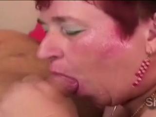 Озорной Рыженький Матушка Отстой Молодых Pervs Жесткий Meatbone