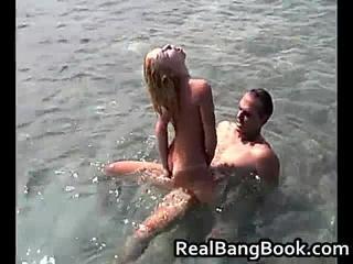Горячая Блондинка Fucning И Сосание На Лодке 3 RealBangBook