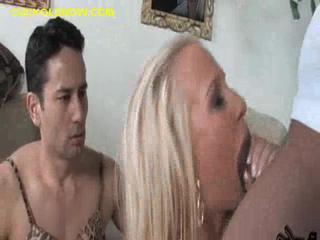 Рогоносец Поцелуй Между Жена Сосет
