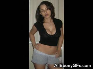 В Реальной Жизни Молодых Ebony GFs!