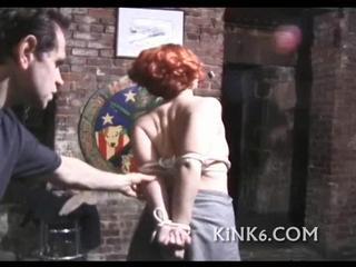 Девушка Соглашается Быть Tied Up