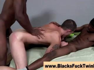 Белые Мальчики Напряженную Задницу Получает Fucked