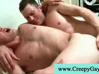 Sexy Hot Мускулистый Парень Трахает Глубоко