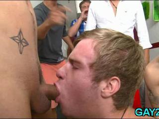 Gay Заставили Сосать Хуй