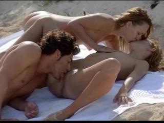 Открытый Сексуальное Трио Makinglove