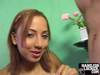 Horny Latina Получает Голый Готов Трахать