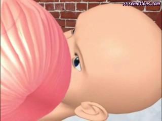 Два Анимационных Младенца Мастурбировать С Игрушками