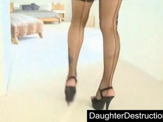 Симпатичный Молодой Подросток Дочь Жестко Выебал