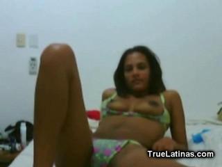 Sexy Latina-Камера Стриптиз