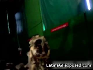 Латинской ЗГ Знакомство С Дикими Ее Horny