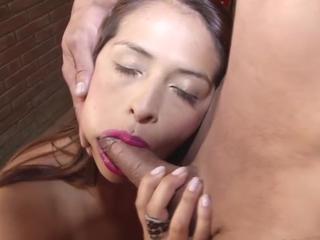 Slutty Реального Latina Шлюха Получает Seks