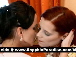 Секси Любительские Brunette Лесбиянки Целуются И Имея Лесбийский Секс
