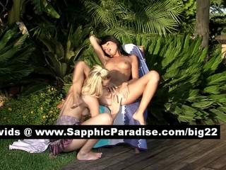 Дебби И Анета Блондинка И Брюнетка Лесбиянок Лижущие И Аппликатура Киску И Имея Лесбийской Любви