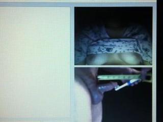 Веб-камера мастурбация часть - 1