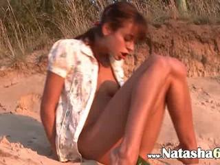 Сладкий Наташа Крошка Голых На Пляже