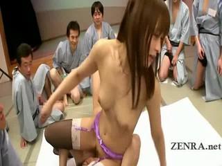 Японский оральный Секс Bonanza С Белье Одетые AV Звезда