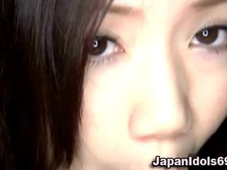 Азии Японская Красотка Минет