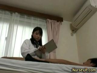 Сладкий Японская Медсестра Babe