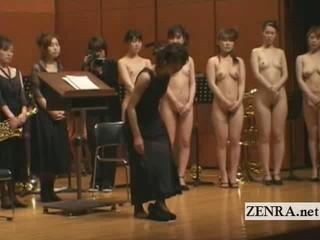Японский Голый Оркестр Начинает С Стриптиз