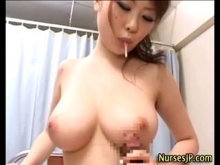 Минет И Русско-Азиатская Медсестра