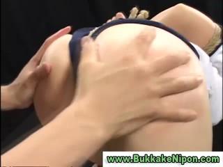 Реальное Любительское Asian Teen Связали И Bukkake В Групповуха