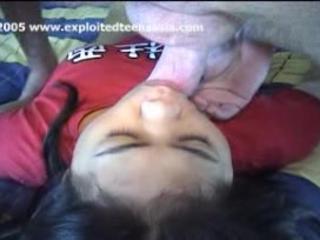 Сара Филиппинских Любительский Подростков Розовый Младенец Внутри