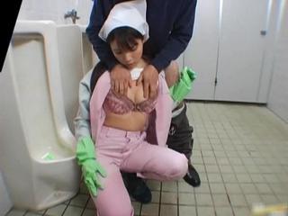 Азиатские Ванная Комната Помощник В Мужской Номер Яв 3 PublicJapan