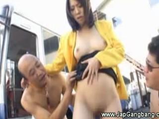 Горячие Азиатские Хозяйка Получать Неприятную