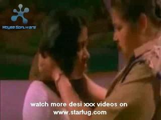 Полиция Lesbions Индийское Порно
