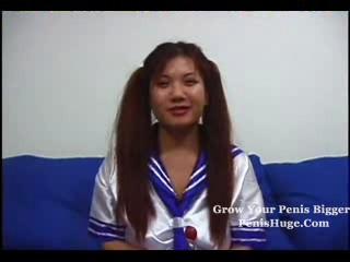 Симпатичная Молодая Азиатская Девочка Получает Fucked........