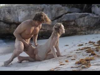 Экстремальный Арт-Секс Сладкая Парочка На Пляже
