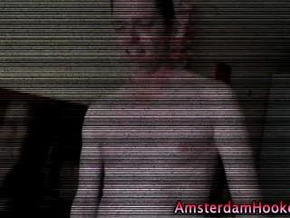 Непослушный Настоящая Голландская Шлюха Получает Cumshot