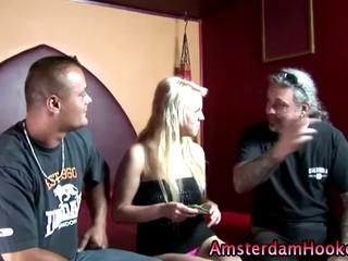 Реальный Амстердам Блондинка Hooker