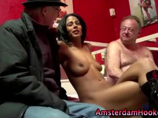Олди Трахает Prozzy В Амстердаме