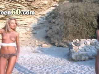 Ultra Роскошные Красотки На Пляже Голым