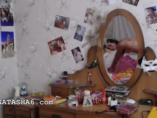 Сексуальный Дразнить Русского Подруга Наташа