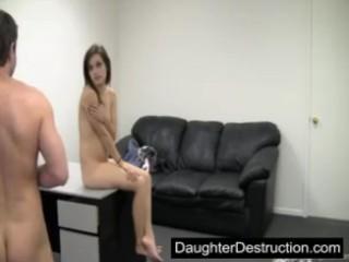 Юная Дочь Первый Раз