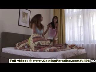 Mellie И Eufrat Подростков Лесбиянок Девочек Играть С Игрушками