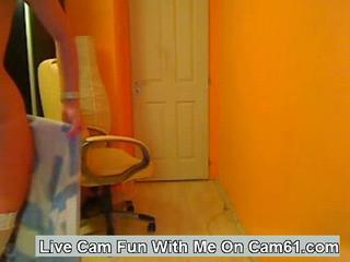 Awesome Басти Большая Задница Cam Девочку Прикладом Качая