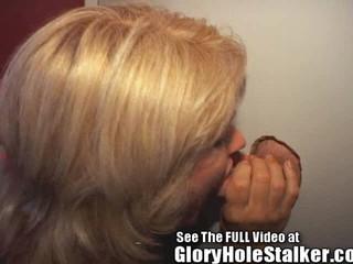 Gloryhole Блонди Creampies! Киску И Задницу!
