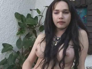 Сексуальный Brunette Latina Шлюха - Дрочится