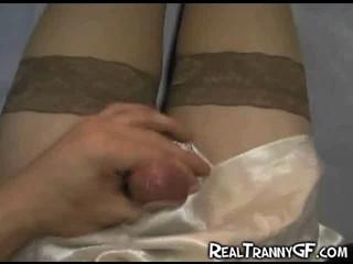 Порно GF В Атласном Белье!